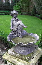 Bird-Bath Fountains